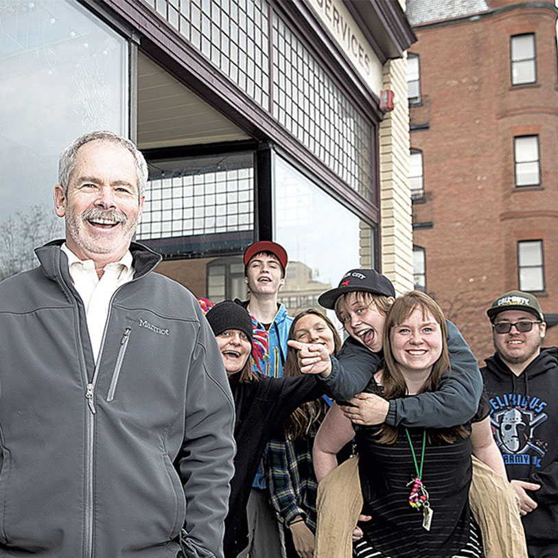Spectrum Director Mark Redmond Tells Tales for Troubled Youth